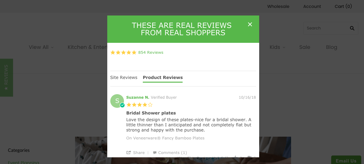 customer feedback e-Commerce