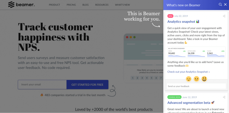 SaaS new features