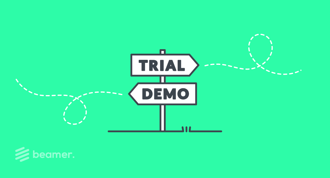 free trial vs demo for SaaS