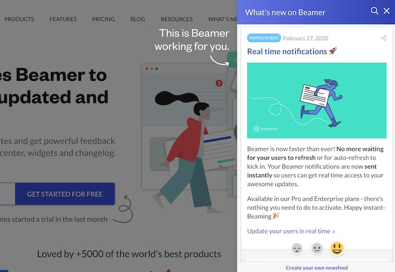 Beamer product updates