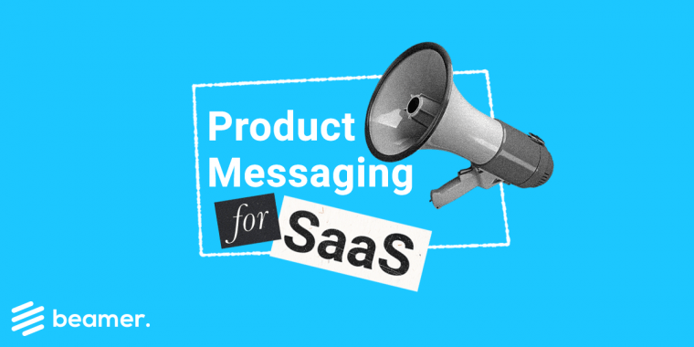 SaaS product messaging