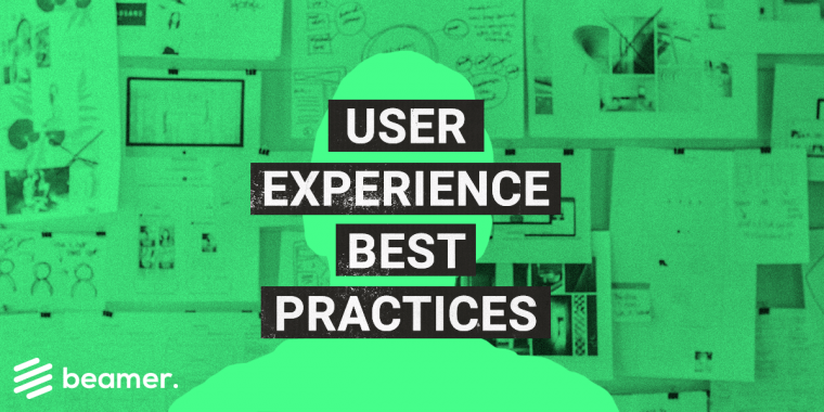 User experience best practices for SaaS